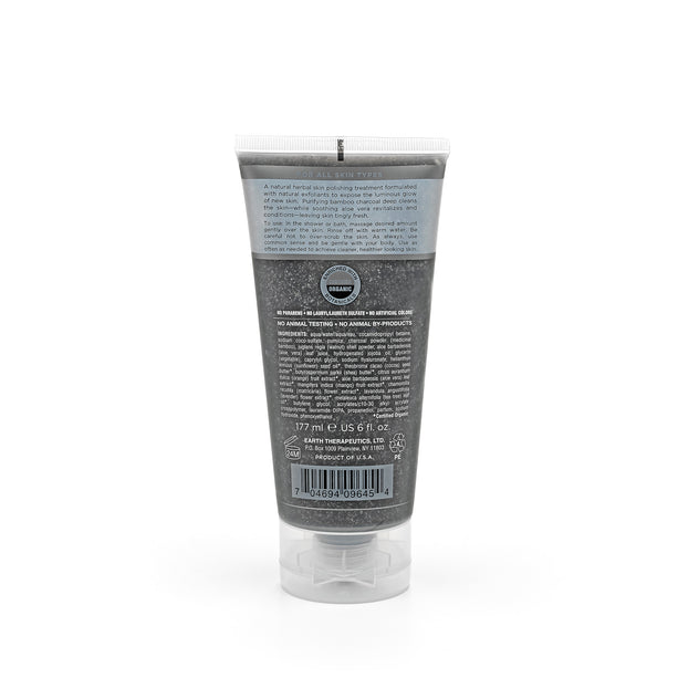 Charcoal Exfoliating Face & Body Scrub