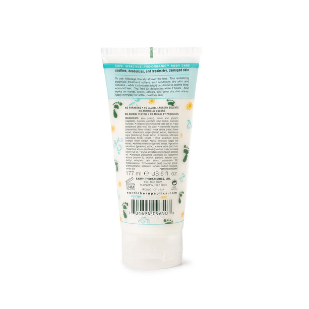 Tea Tree Oil Foot Repair Balm - 6 oz. back