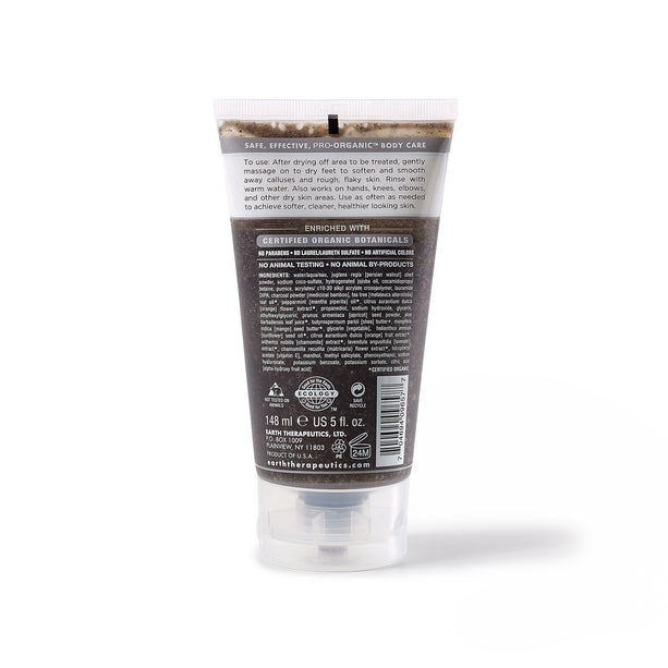 Smooth Charcoal Purifying Foot Scrub