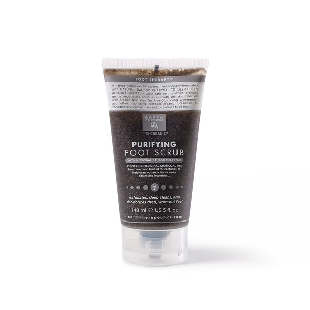 Dark Charcoal Purifying Foot Scrub