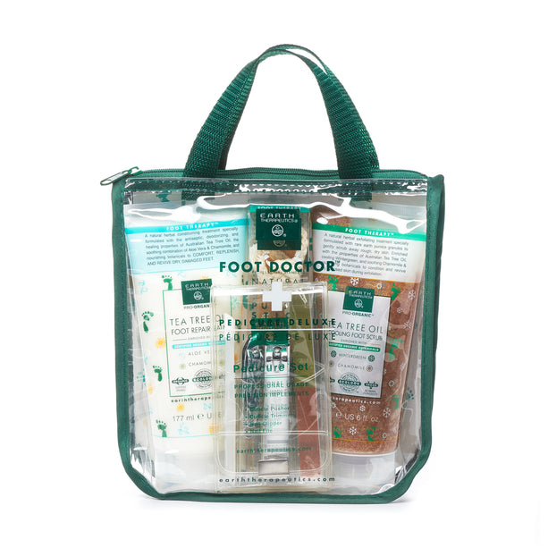 """Foot Doctor"" Pedicure Deluxe Kit+++ PKG-front"