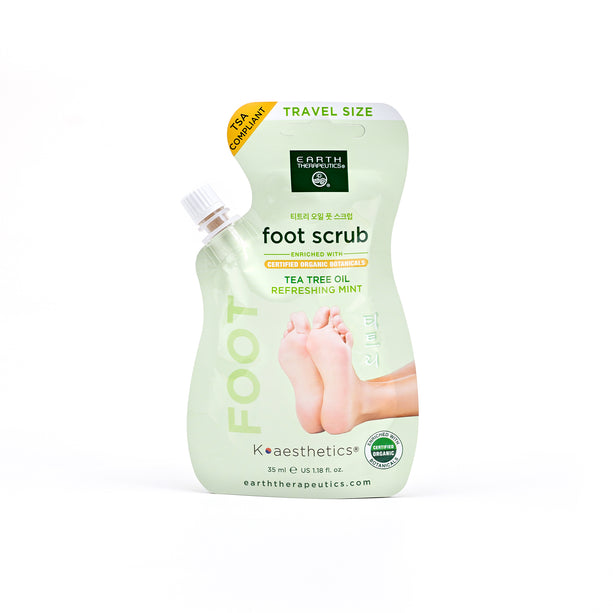 Mint Foot Scrub Pouch w/ Spout - Travel