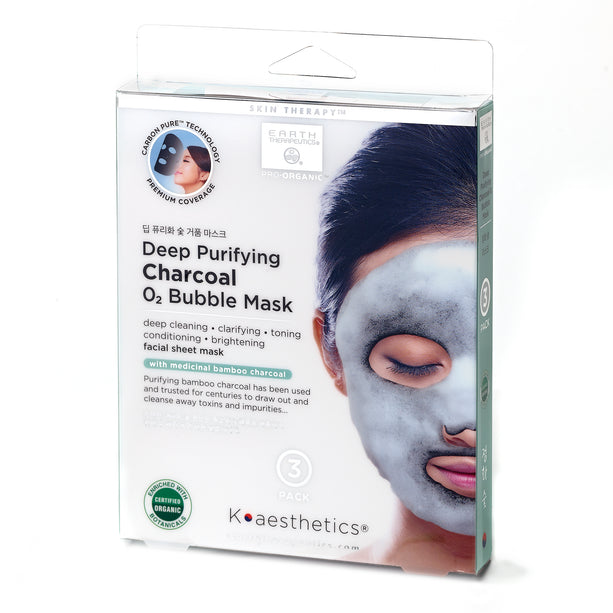 Deep Purifying Charcoal Bubble Mask Charcoal BubbleMask-PKG