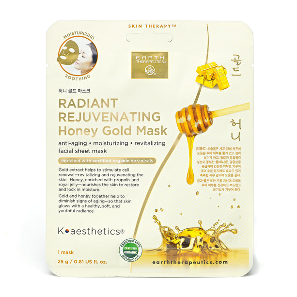 Radiant Rejuvenating Honey Gold Mask