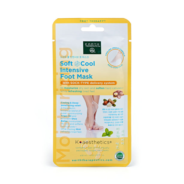 Orange Soft and Cool Intensive Foot Mask