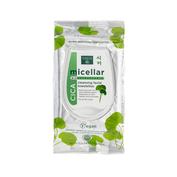 Micellar Cleansing Facial Wipes - Cica