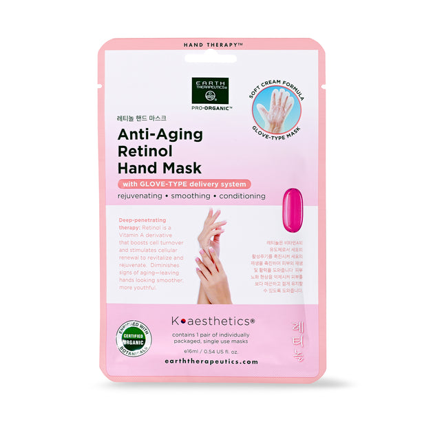 Single Use Retinol Anti Aging Hand Mask