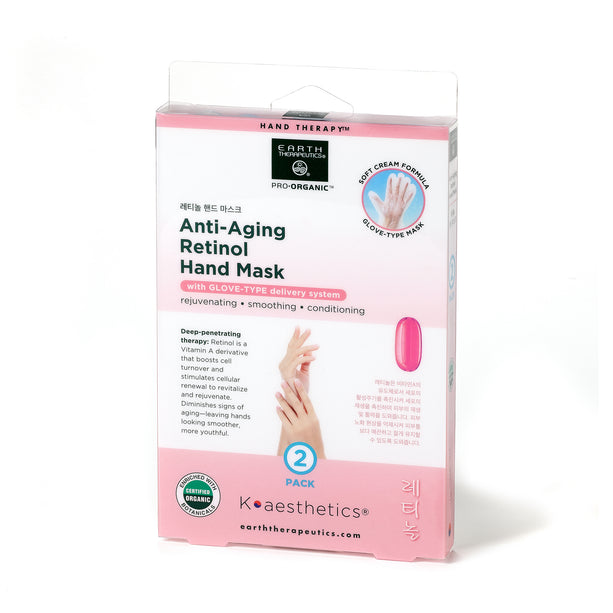 Affordable 2 Pair Retinol Anti Aging Hand Mask
