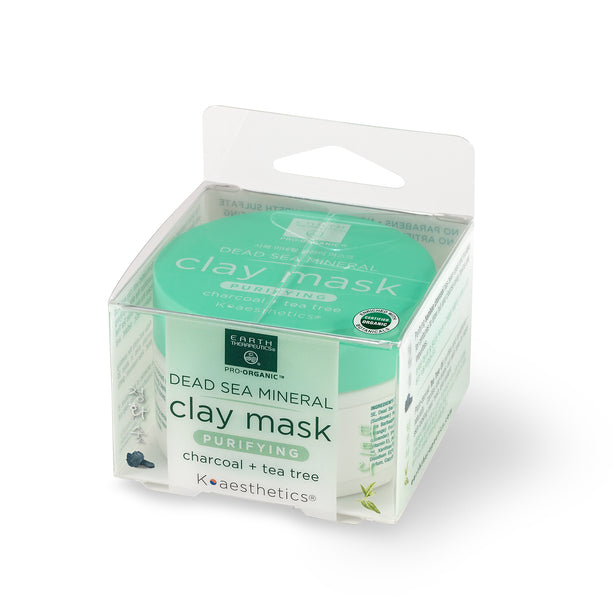 Clay Mask - 3.17 oz. Purifying- Char. + TT Box Front