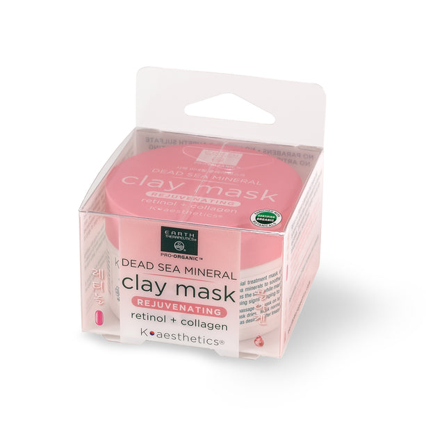 Clay Mask - 3.17 oz. Rejuvenating - Col + Ret Box Front