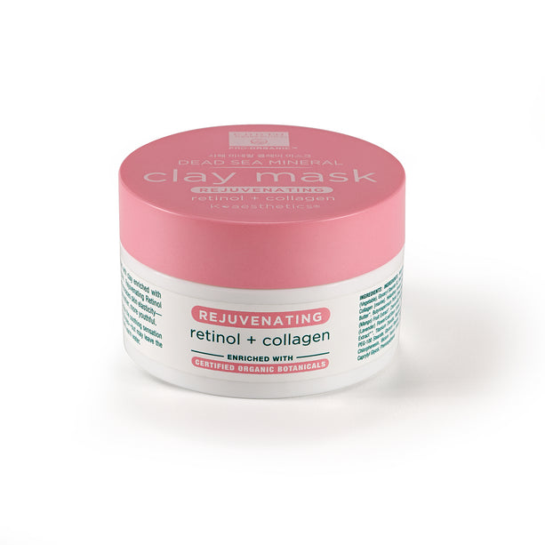 Dead Sea Mineral Clay Mask-Retinol & Collagen