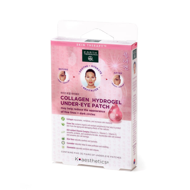 Collagen Undereye Patches - 5 PAIRS PKG-Front
