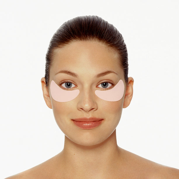Collagen Undereye Patches - 5 PAIRS in use