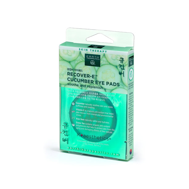 Recover-E Cucumber Eye Pads - 5 PAIRS PKG