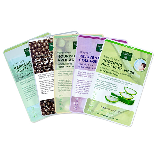 Essential Beauty Masks - 5 Pack
