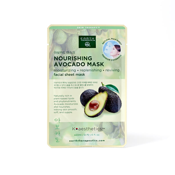 Facial Sheet Nourishing Avocado Mask