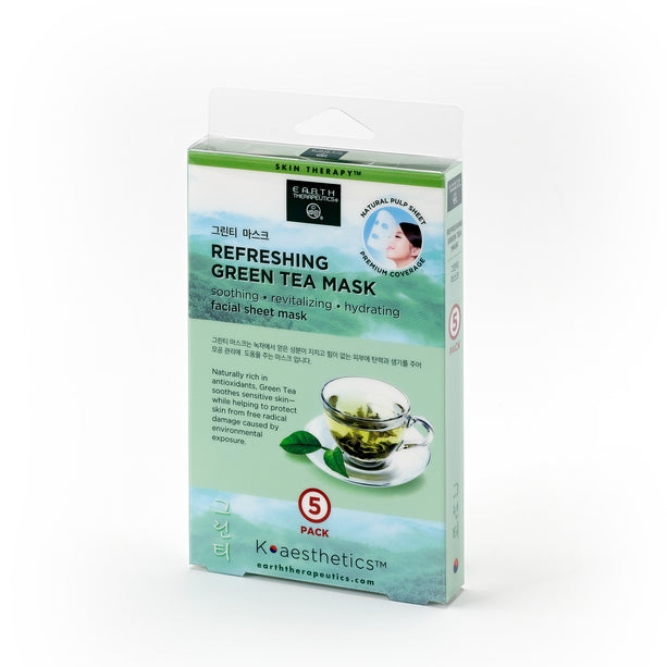 Refreshing Green Tea Mask - 5 Pack