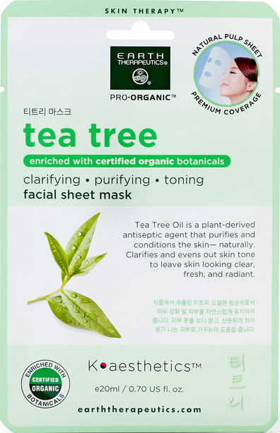 Green Blend Tea Tree Cucumber Face Mask