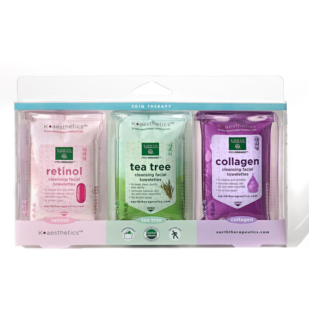 Makeup Remover Wipes - 3pk - 15ct each TravelWipes Box-Front