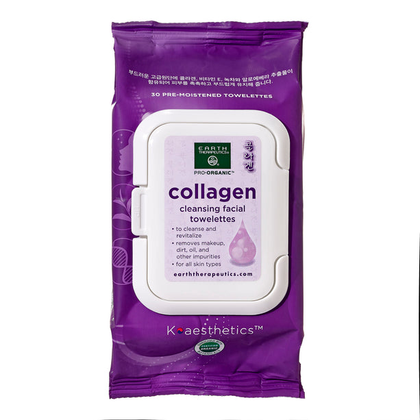 Makeup Remover Wipes - Collagen - 30ct Wipes-Front