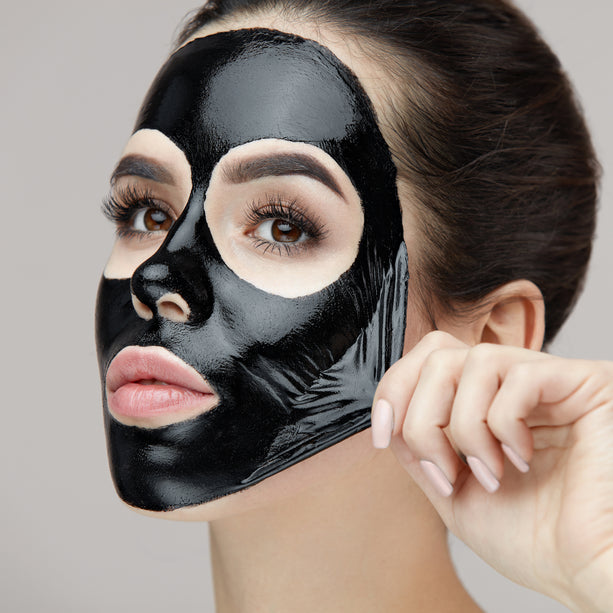 Charcoal Peel Off Mask w charcoal peel-off mask
