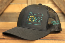 Gorge Greenery Snapback Hat: Oregon