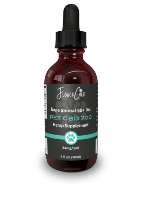 Pet Tincture 700mg CBD - FlowerChild