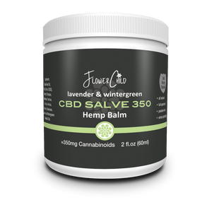 Herbal Salve 350mg CBD - FlowerChild