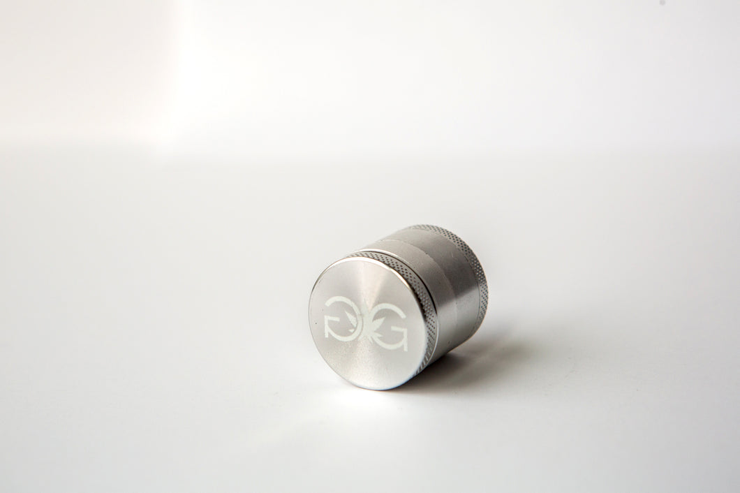 Metal Herb Grinder 30mm Silver