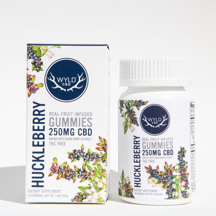 Huckleberry CBD Gummies - Wyld