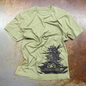 Gorge Greenery Bud T-Shirt Light Olive