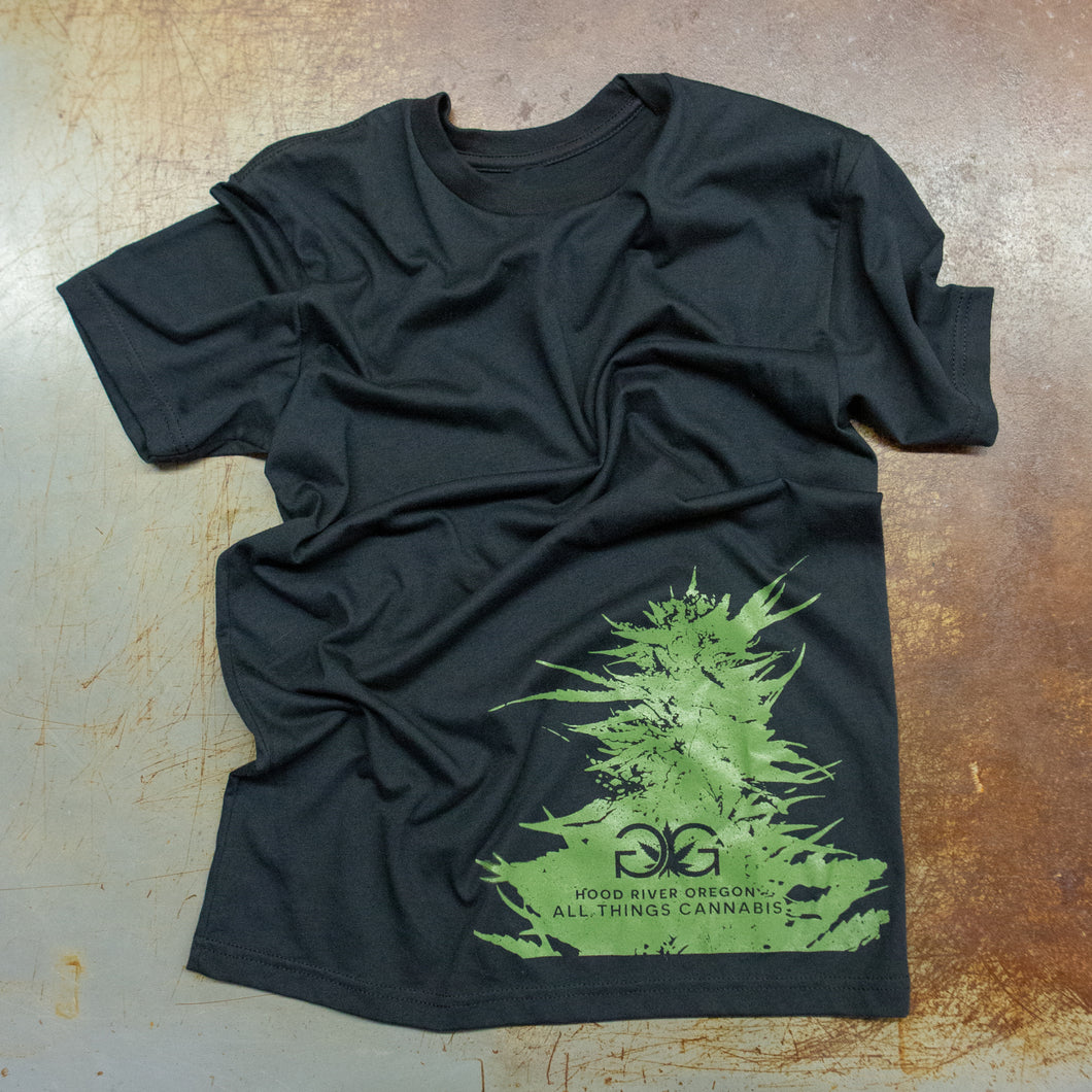 Gorge Greenery Bud T-Shirt Black