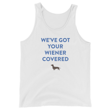 WE'VE GOT YOUR WIENER COVERED  Tank Top
