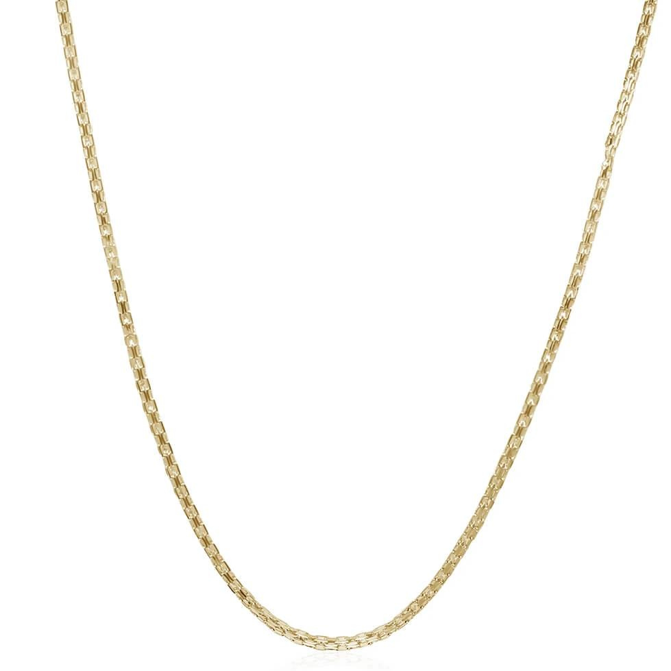 Box Chain 14K Gold