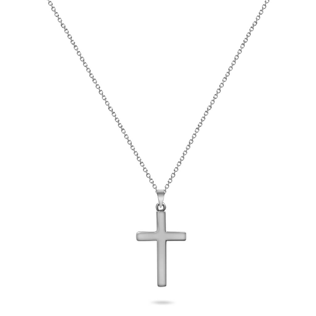 Cross Pendant in 14K Solid Gold