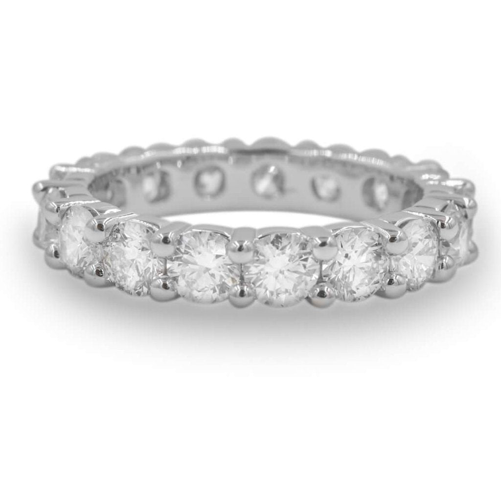 Jessica Diamond Eternity Wedding Band In 14K Gold