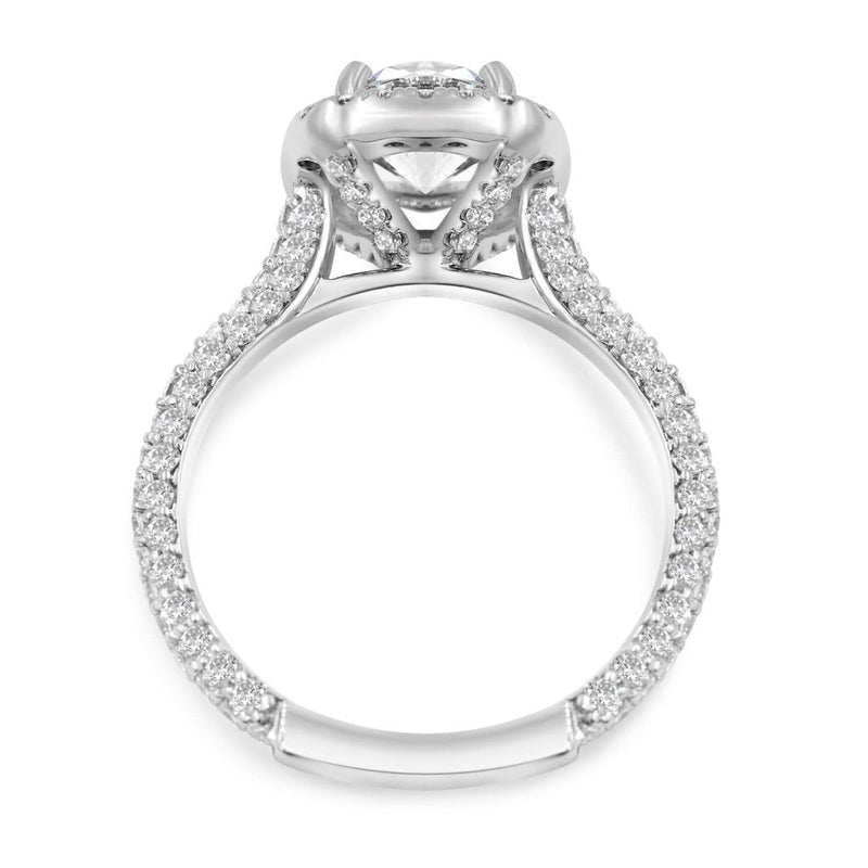 TARA Halo Engagement RIng