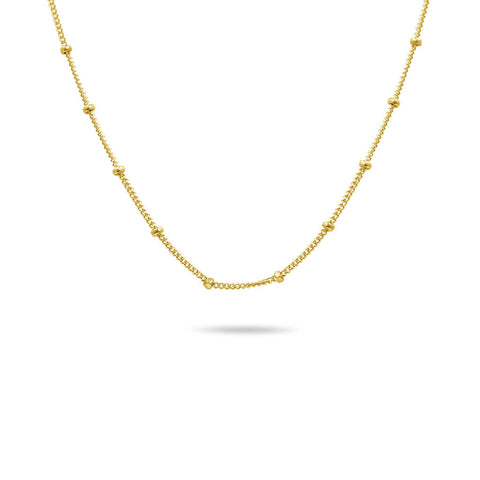 Pearl Pendant Freshwater Cultured Necklace in 14K Solid Gold