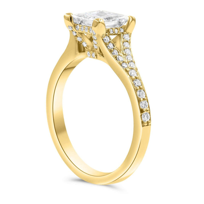 KIMBERLY Princess Cut Engagement Ring