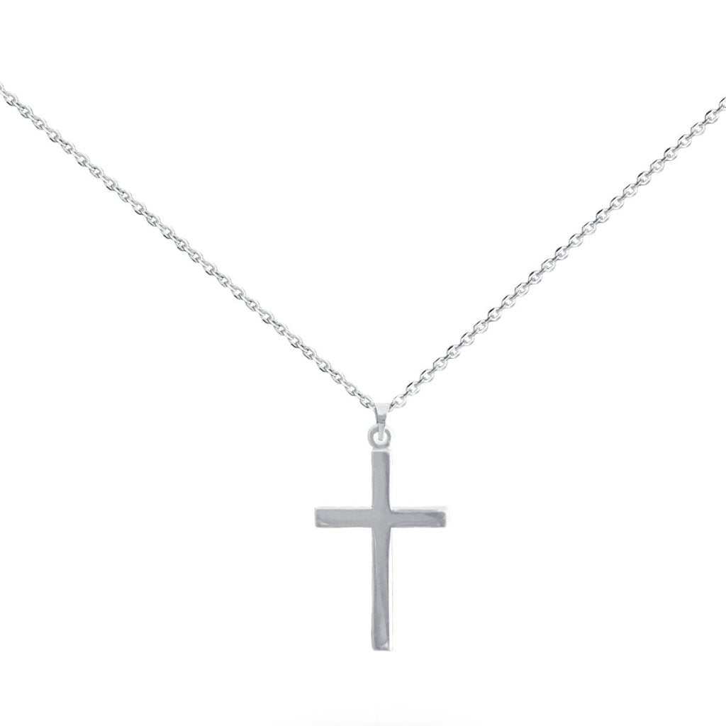 Dylan Cross Necklace in 14K Solid Gold