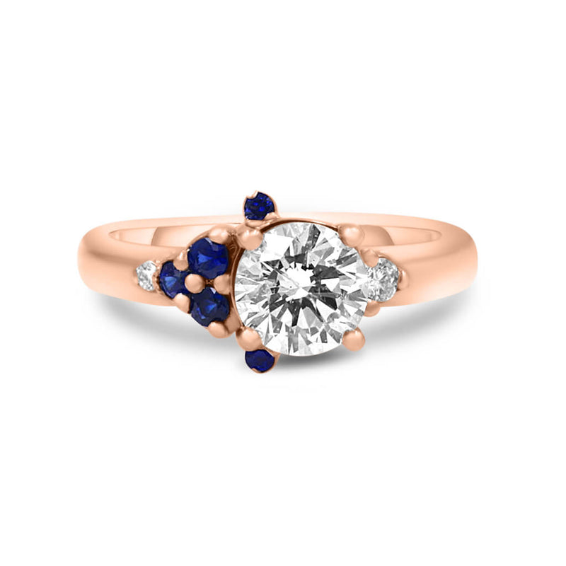 RITA Round Diamond Engagement Ring