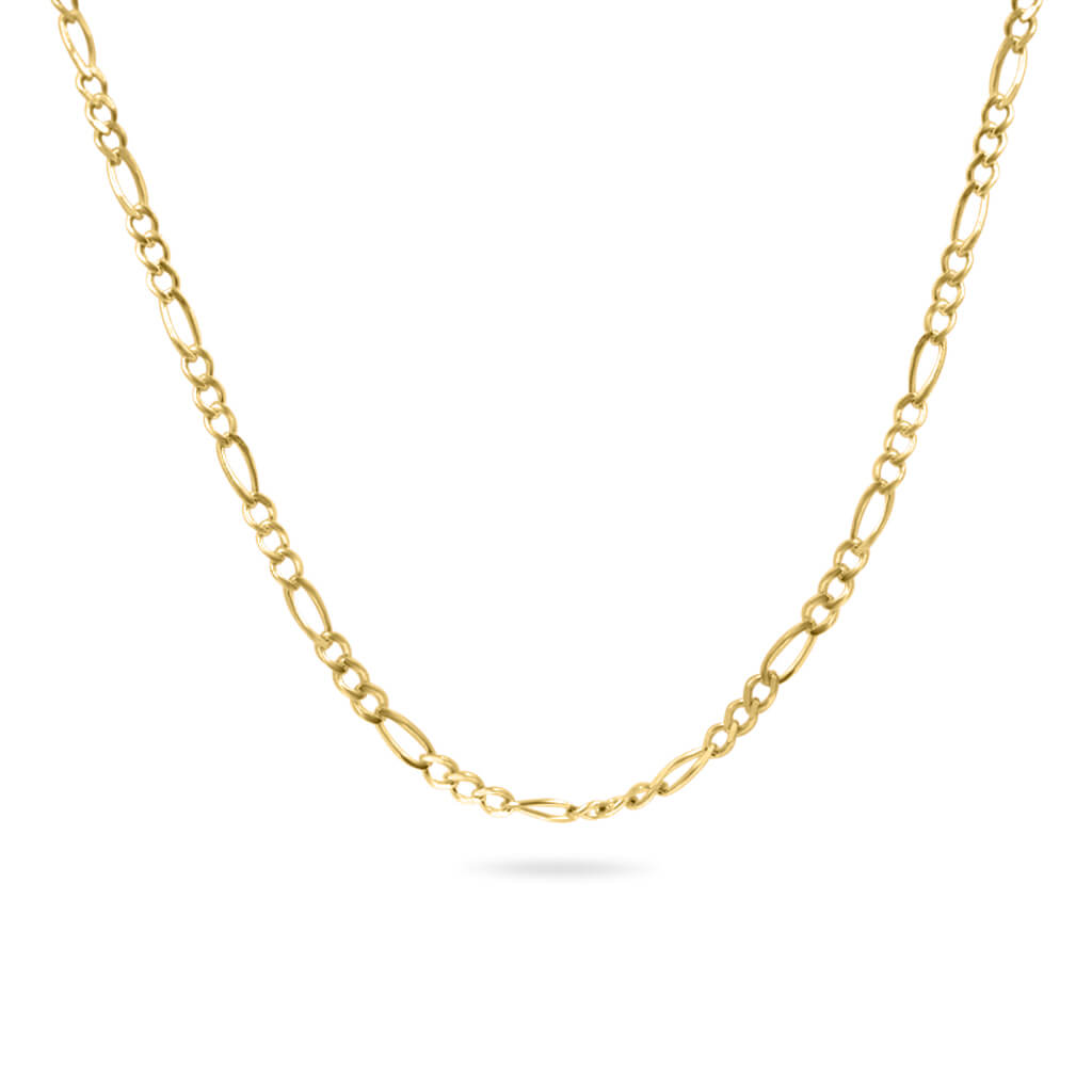 Figaro Chain 14K Yellow Gold