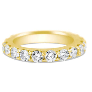 Cynthia | Half Diamond Wedding Band