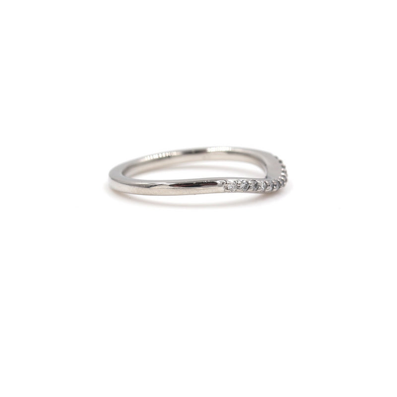 Diamond Anniversary Wedding Band In Platinum