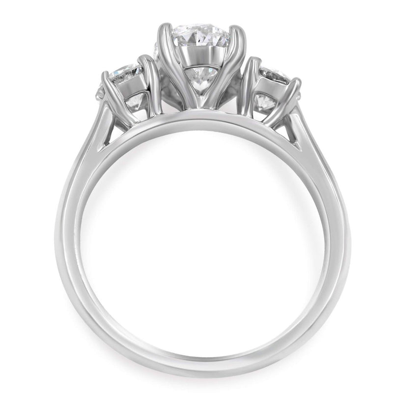 LEILANI Oval Engagement Ring