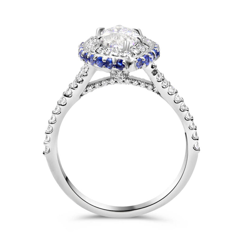 Jenna Marquise Cut Diamond Engagement Ring