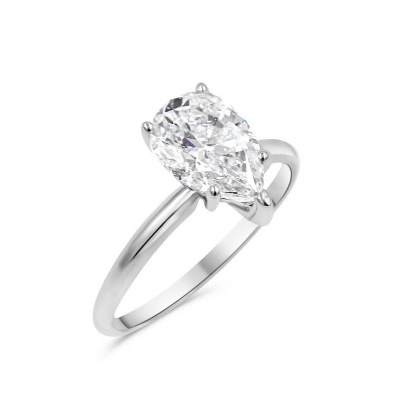 JOCELYN Pear shape Diamond Engagement Ring