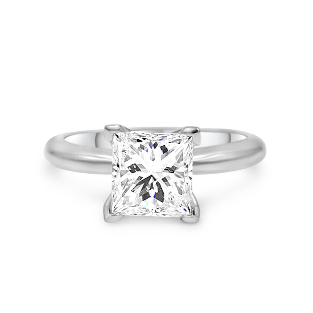 Kandra Princess Cut Engagement Ring