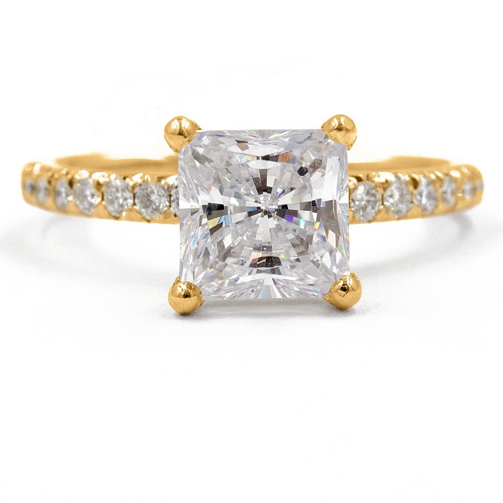 KAYLA | Princess Cut Traditional Engagement Ring