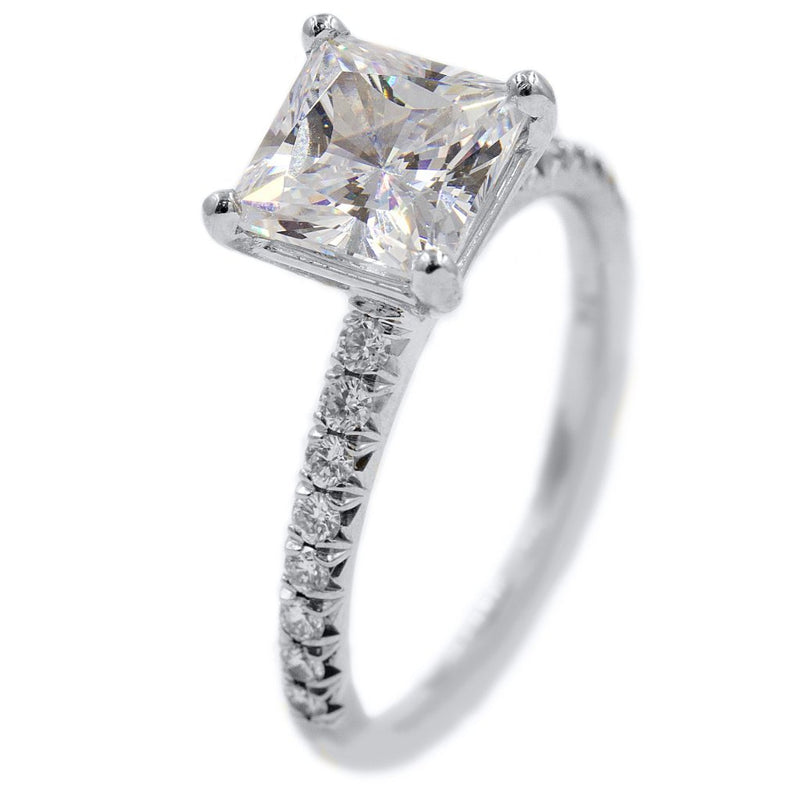 KAYLA Princess Cut Engagement Ring